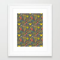 pasta Framed Art Prints featuring Pasta by canigrin