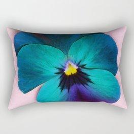 Viola tricolor Rectangular Pillow