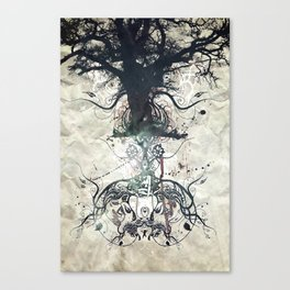 Triad Canvas Print