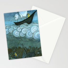 Sky Sailing Stationery Cards