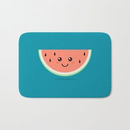 Watermelon Kawaii Bath Mat