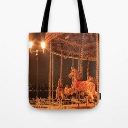 Night Riding Tote Bag