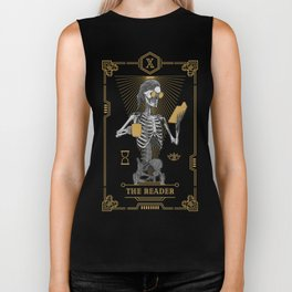 The Reader X Tarot Card Biker Tank