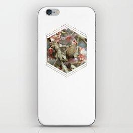 Subtly Flourishing - Hexagon iPhone Skin