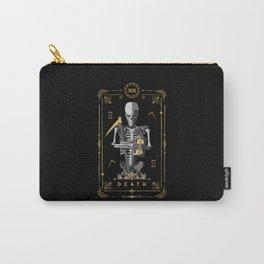 Death XIII Tarot Card Carry-All Pouch
