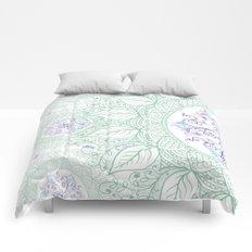 Mandaleaf - Green Comforters