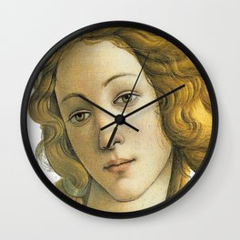 Botticelli Venus Fine Art Classical Renaissance Artist Painting Wall Clock