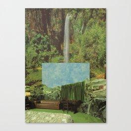 verde & cielo Canvas Print