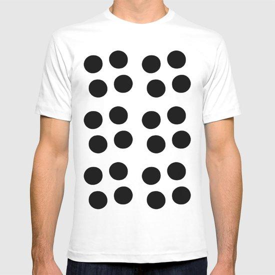Copijn Black & White Dots T-shirt