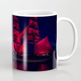 Scarlet Sails Coffee Mug