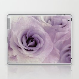 wet purple rose Laptop & iPad Skin