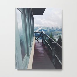 Bald Mountain Lookout Metal Print