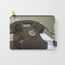 The Old Telephone Carry-All Pouch