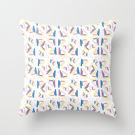 BP 63 Abstract Throw Pillow