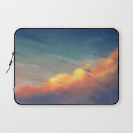 Sunset clouds Laptop Sleeve