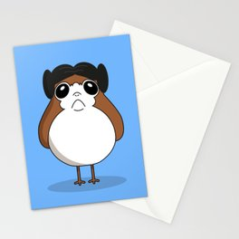 porg leila Stationery Cards