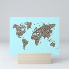 Slum World Mini Art Print