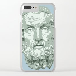 Homer Clear iPhone Case