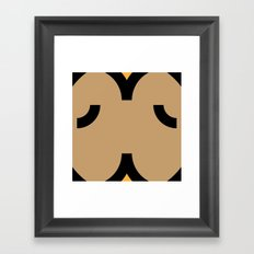 face 5 Framed Art Print
