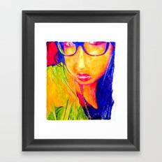 Hailey Seals Framed Art Print