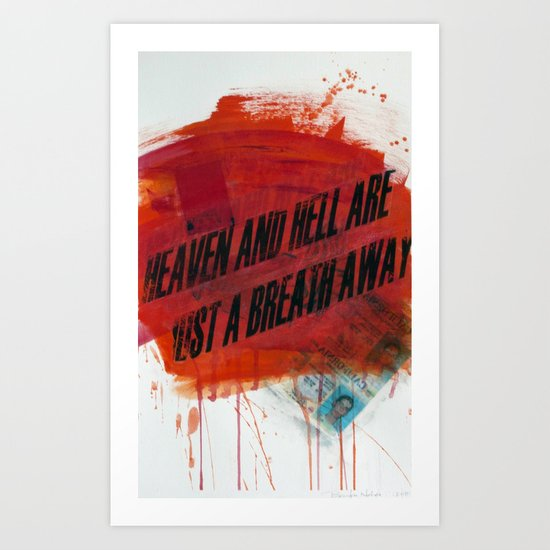HEAVEN&HELL2 Art Print