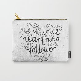 TRUE HEART Carry-All Pouch