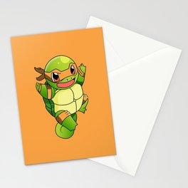 TMNT_POKET_MONSTER_orange Stationery Cards