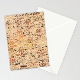 Vintage Ephemera 3 Stationery Cards