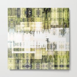 Tape Echo Forest Metal Print