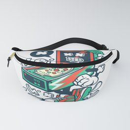 Pinball for animated characters comics and pop culture lovers Fanny Pack