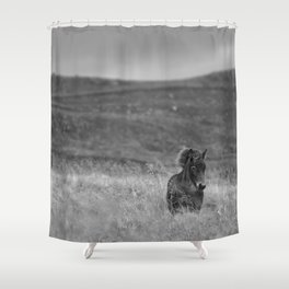 Tough guy Shower Curtain