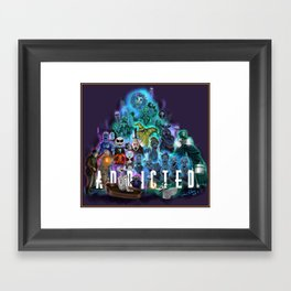 I'm Addicted by Topher Adam 2017 Framed Art Print