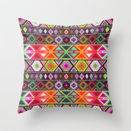 N247 - Colored Oriental Traditional Boho Moroccan Style Throw Pillow
