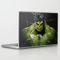 daenerys targaryen Laptop & iPad Skins featuring Angry HULK  by bimorecreative