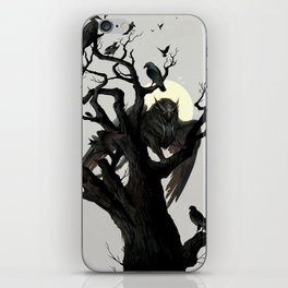 Black Tree iPhone Skin