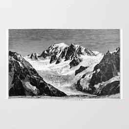 Existing Alpine Glacier Rug
