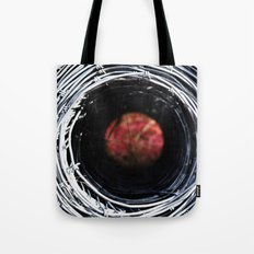 Farm art Wire macro abstract photography Tote Bag
