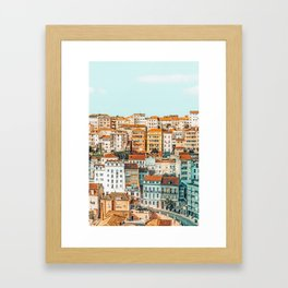The Town #photography #travel Framed Art Print