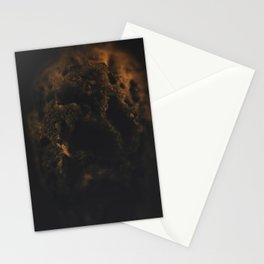 Darkness of a burnt match Stationery Cards