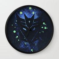 transformers Wall Clocks featuring Grunge Transformers: Decepticons by Sitchko Igor