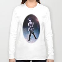 sandman Long Sleeve T-shirts featuring Death by raulovsky (Raúl Ramos Melo)