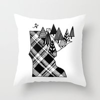 minnesota Throw Pillows featuring Minnesota Love by cmbringle