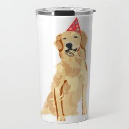 Birthday Puppy! Travel Mug