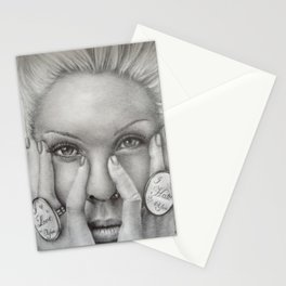 P!NK Fan Art Stationery Cards