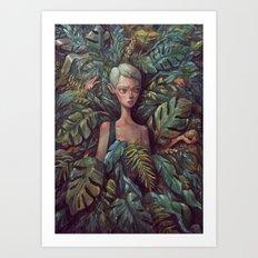 the Hideout Art Print
