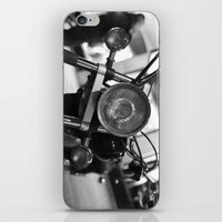 motorcycle iPhone & iPod Skins featuring Motorcycle by James Tamim