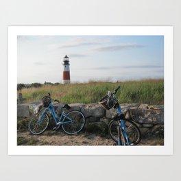 Sankaty Head Lighthouse Art Print