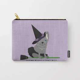 French Baconator Lola the Witch Carry-All Pouch