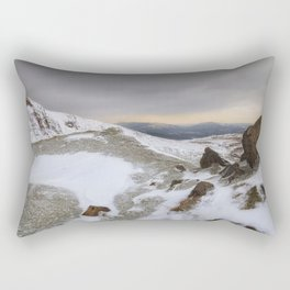 The rugged beauty of the Brecon Beacons Rectangular Pillow
