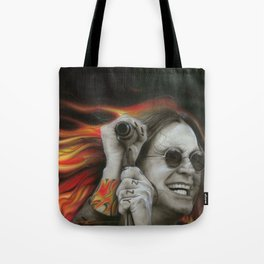 'Ozzy's Fire' Tote Bag